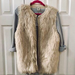 Faux Fur Sweater Vest - Love on a Hanger